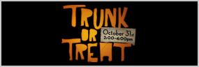 Trunk or Treat 2015 banner