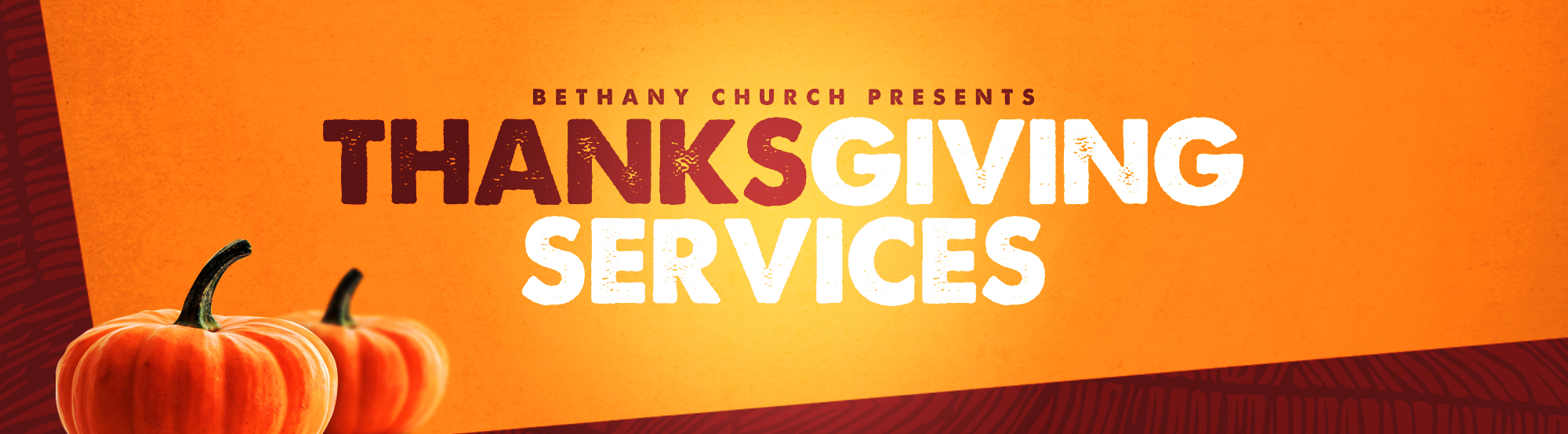Thanksgiving Services main