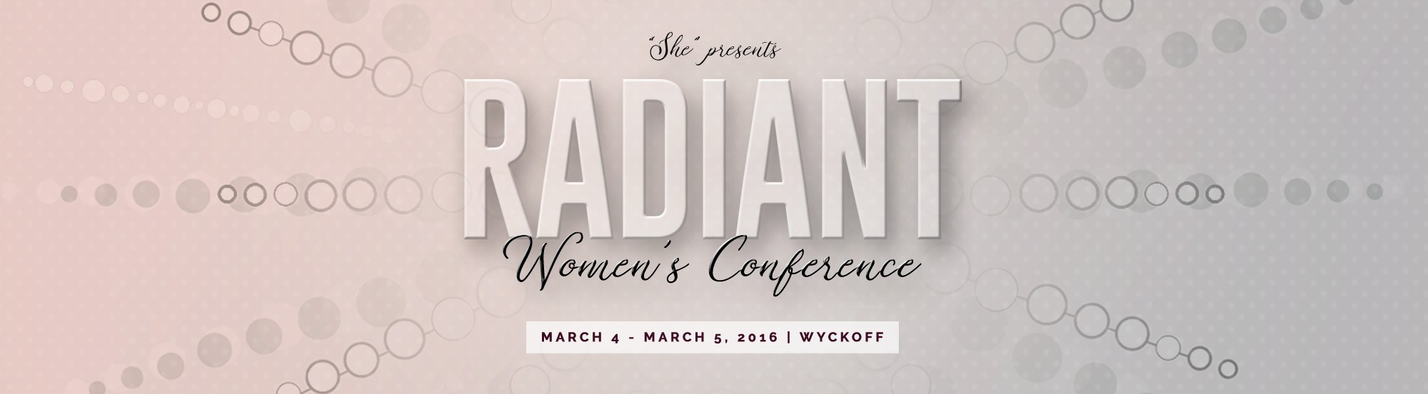 Radiant Conference main